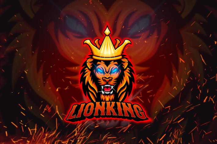 Thumbnail for Lion - Esport Mascot Logo