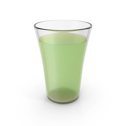 Glastasse mit Limonade