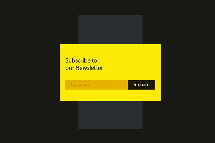 Newsletter Subscribe Module Widget