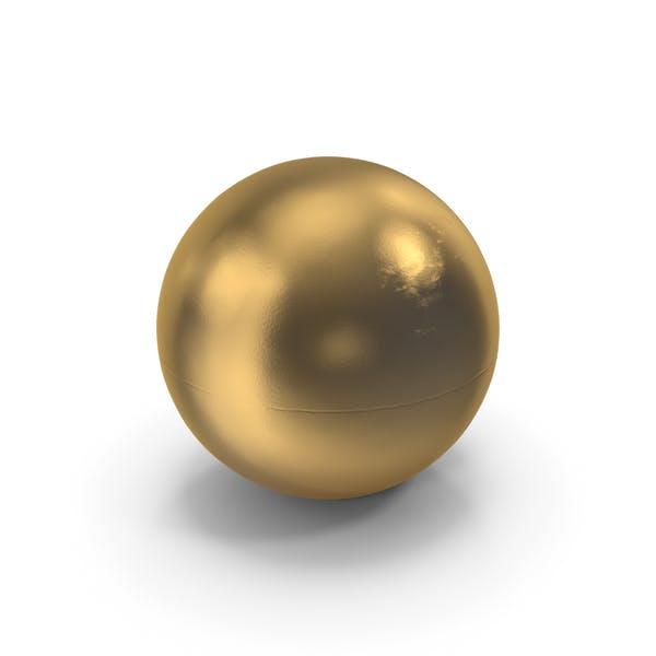 Golden Ping Pong Ball