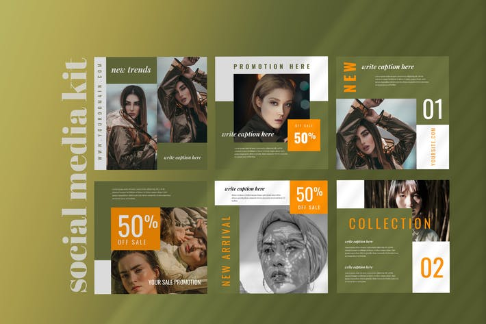 Thumbnail for Tweleve - Social Media Kit