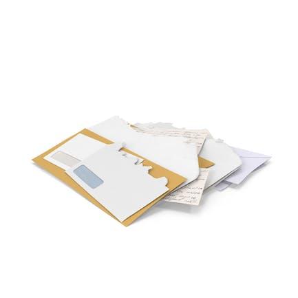 Stapel von Mail