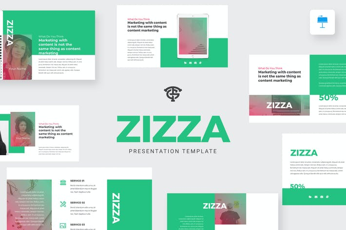 Thumbnail for Zizza Marketing - Keynote