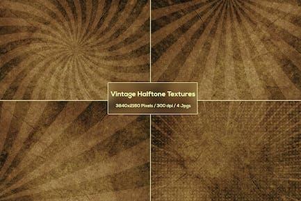 Vintage-Halbton-Texturen