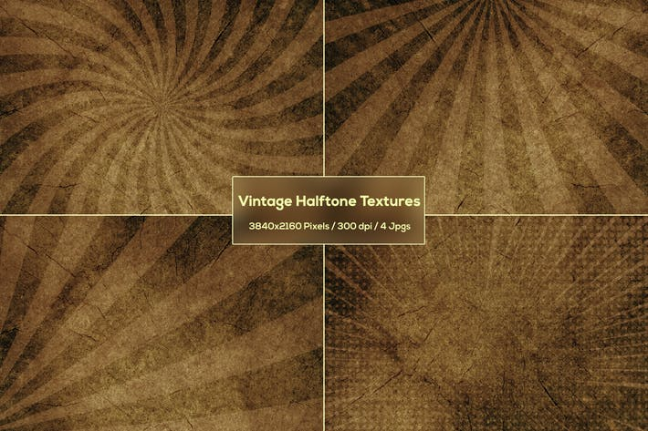 Thumbnail for Vintage Halftone Textures