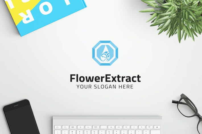 Thumbnail for FlowerExtract professional logo