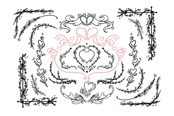 Thumbnail for Heart Ornaments