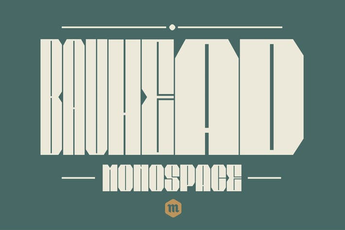 Thumbnail for Bauhead Typeface