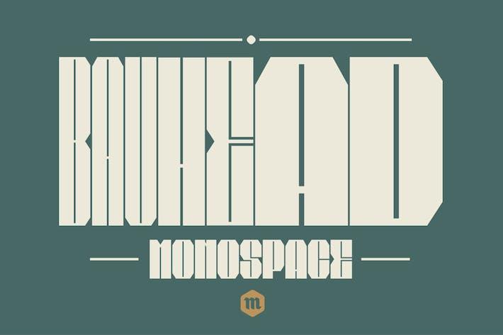Thumbnail for Bauhead Typeface|Bauhaus Design Font