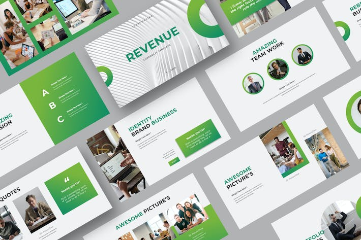 Thumbnail for REVENUE (1) Powerpoint Template