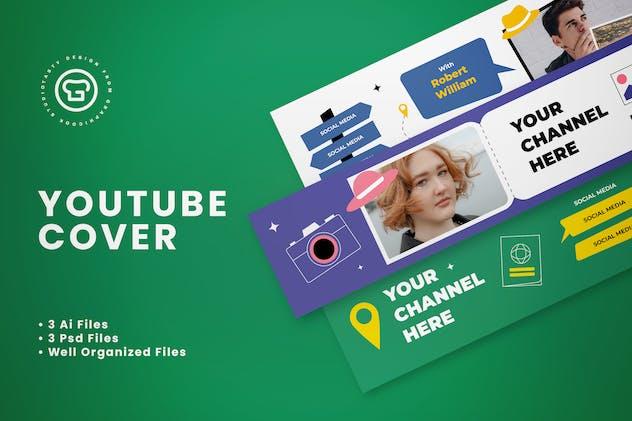 Youtube Cover Travel Vlogger