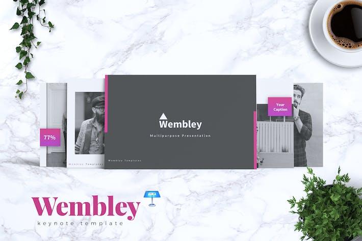 Thumbnail for WEMBLEY - Creative Keynote Template