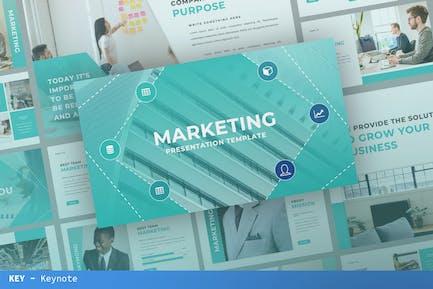Marketing Keynote Template