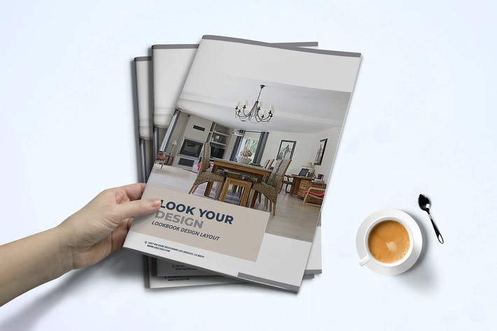Thumbnail for Innenansicht Lookbook-Vorlage
