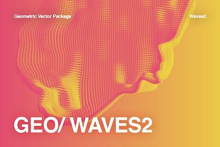 GEO_WAVES2 Vector Pack
