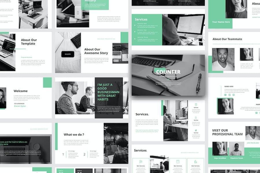 Counter – Business Google Slide Template