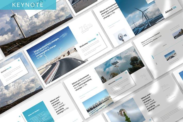Thumbnail for Шаблон Keynote Prowel- Energy