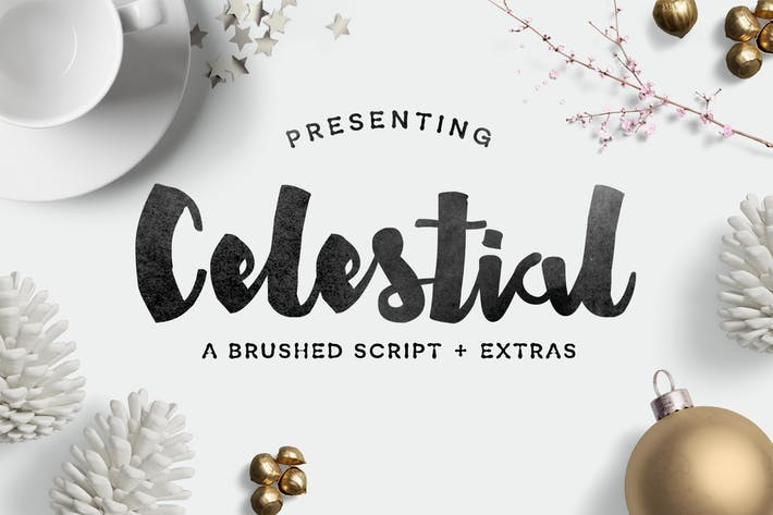 Cover Image For Celestial Font
