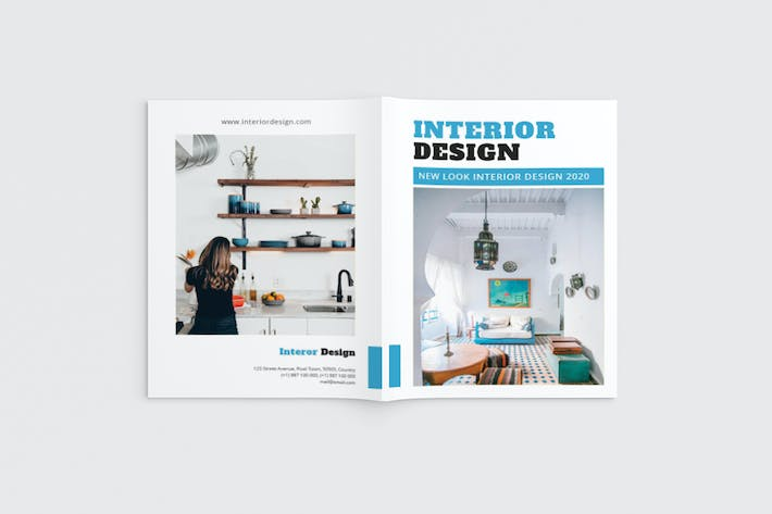 Cover Image For Fancy Interior Brochure