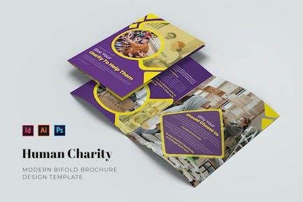 Human Charity Bifold Brochure