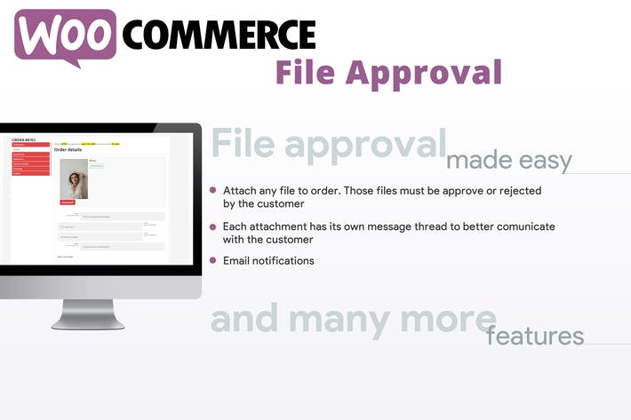 Thumbnail for Approbation de fichier WooCommerce
