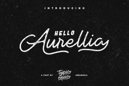 Aurellia Vintage Font