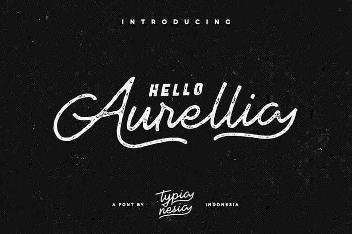 Thumbnail for Aurellia Font