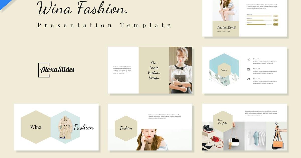 Download Wina - Fashion Keynote Presentation Template by alexacrib