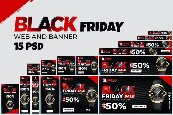 Thumbnail for Black Friday Banner Ads