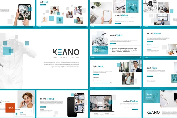 Thumbnail for Keano - Business Powerpoint Template