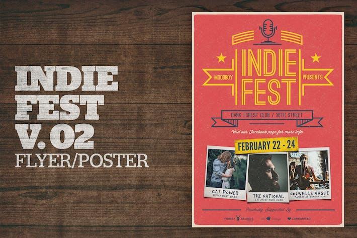 Cover Image For Indie Fest Poster V02