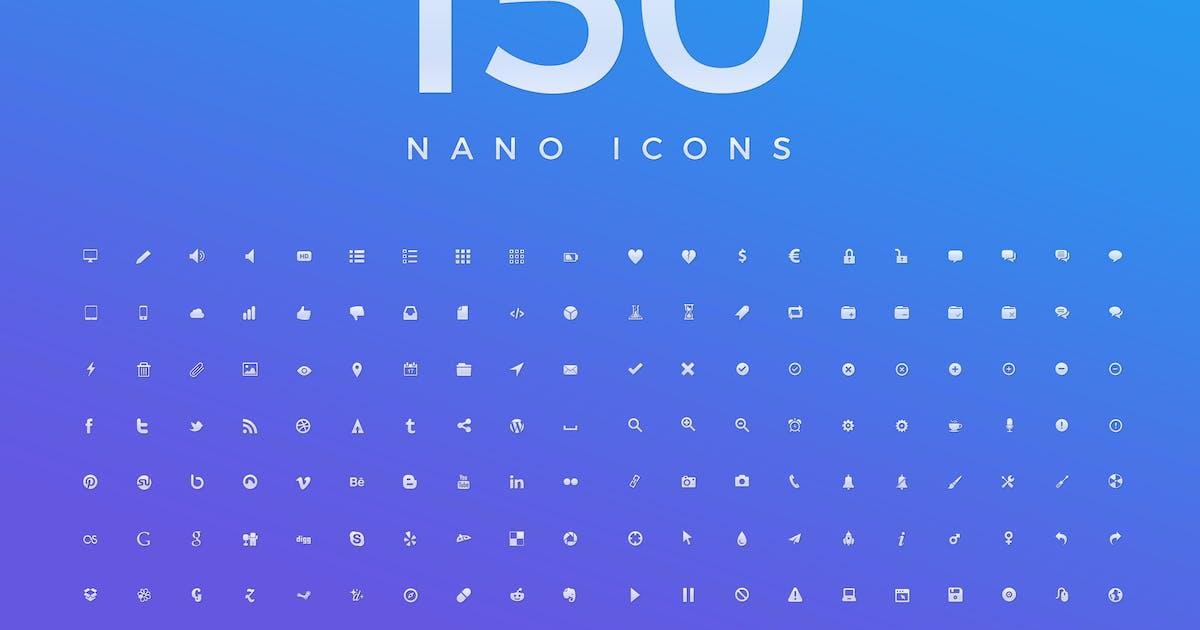 Download 150 Nano Vector Icons 3 by KL-Webmedia