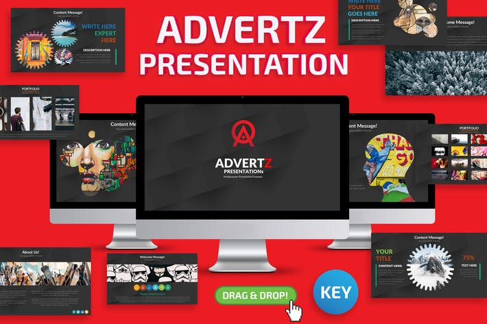 Cover Image For Advertz Keynote Template