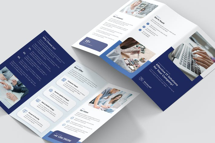 Thumbnail for Brochure – IT Services Tri-Fold
