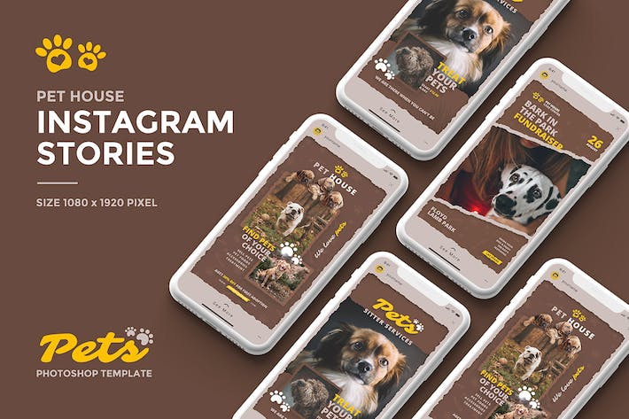 Thumbnail for Pets Instagram Story Template