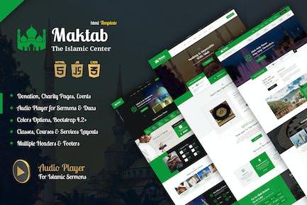 Maktab - Islamic Institute HTML Template