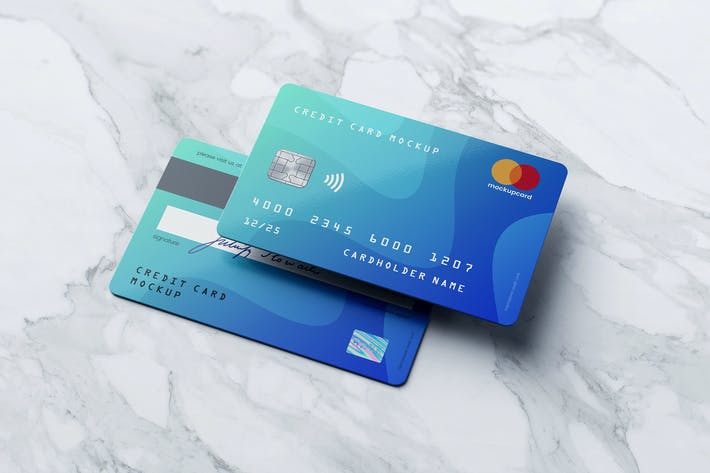 Thumbnail for Credit Card / Membership Card MockUp