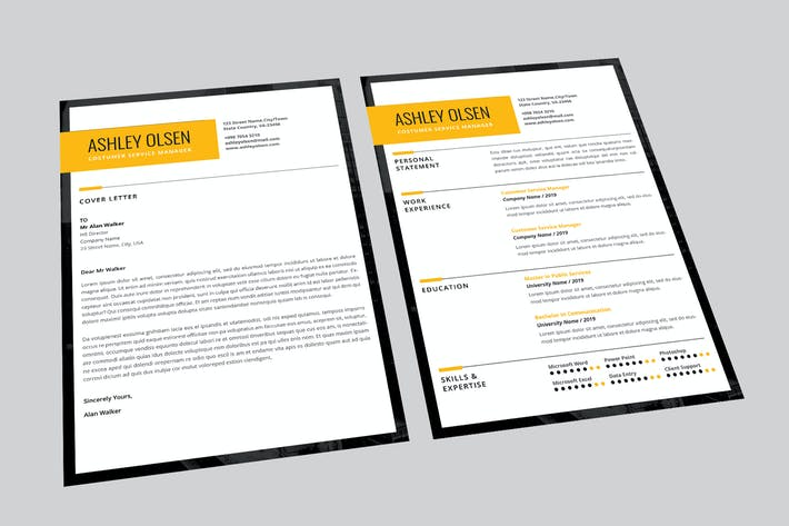 Thumbnail for Keys CV Resume Designer