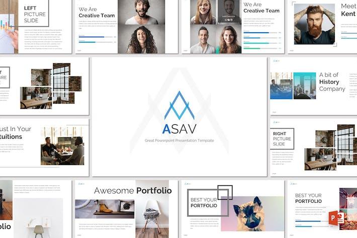 Thumbnail for ASAV - Powerpoint Template