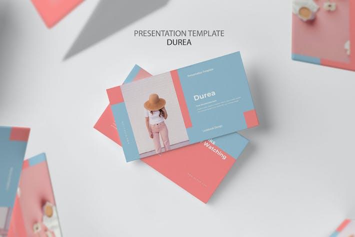 Thumbnail for Durea : Pastel Colors Google Slides
