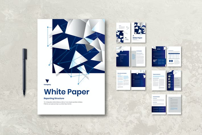 Thumbnail for White Paper Book Report