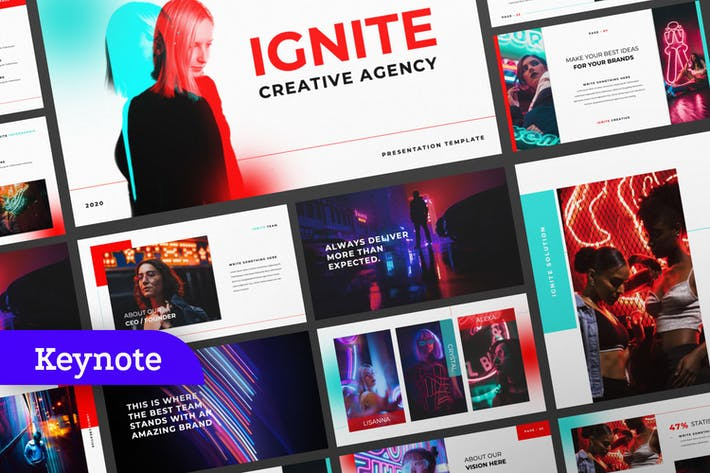 Thumbnail for Ignite Creative Agency Keynote Template