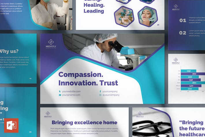 Thumbnail for Medical Clinic PowerPoint Presentation Template