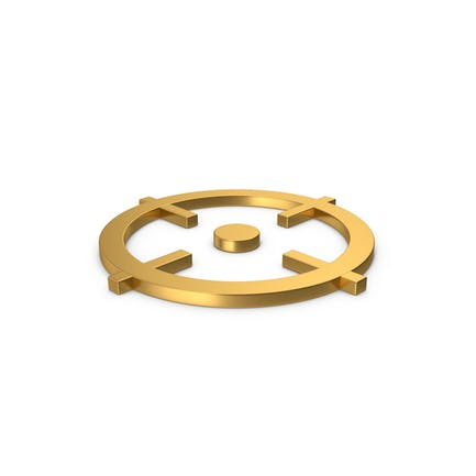 Gold Symbol Aim