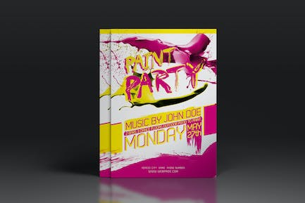 Paint Party Flyer or Poster