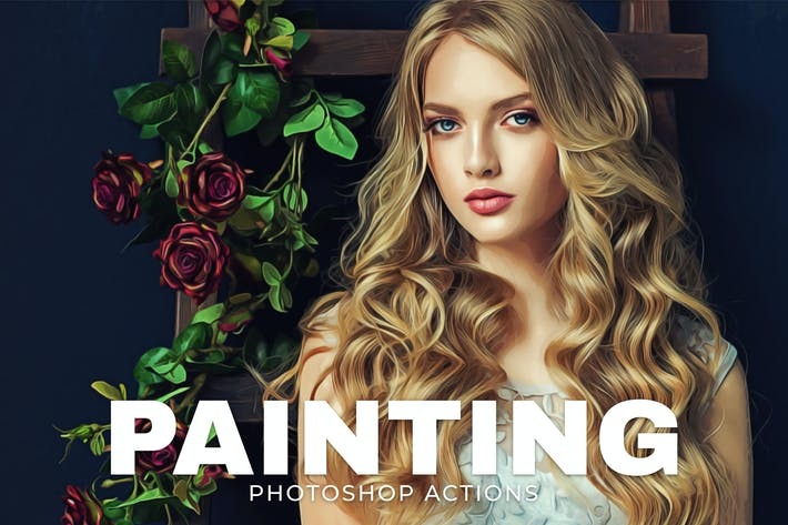 Cover Image For Painting Photoshop Actions