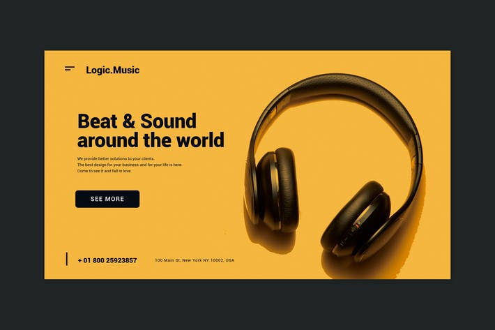 Thumbnail for Beat & Sound - Landing Page