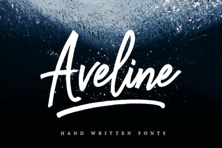 Thumbnail for Aveline Script
