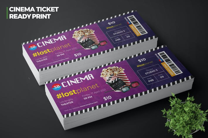 Thumbnail for Cinema Movie Ticket