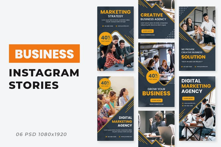 Thumbnail for Business Agency Ad Instagram Stories